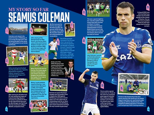 Official Everton Annual 2022 inside1