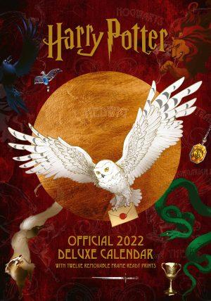 Harry Potter 2022 Deluxe A3 Calendar