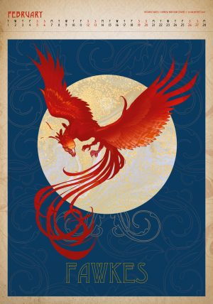 Harry Potter 2022 Deluxe A3 Calendar INS