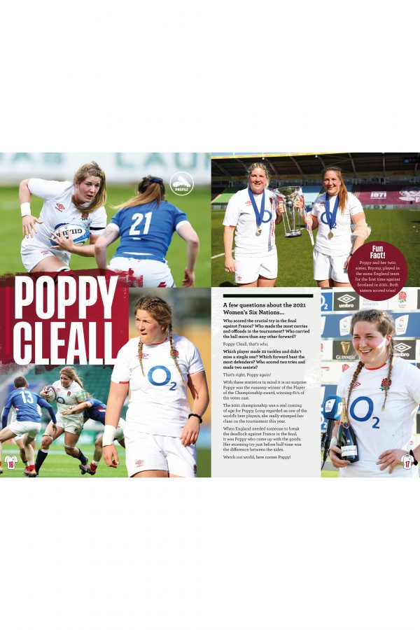 Official England Rugby Annual 2022 Inside 2