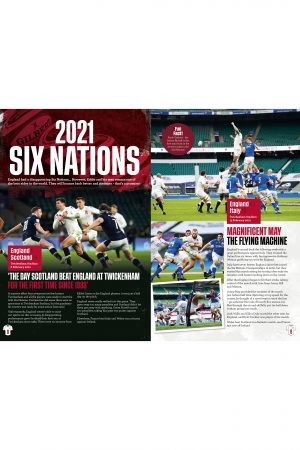 Official England Rugby Annual 2022 Inside 1