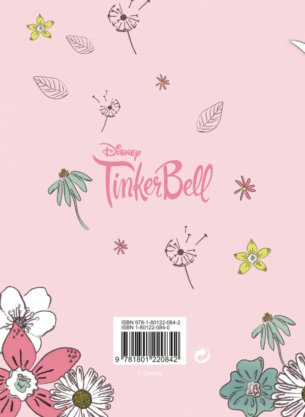 Disney Tinkerbell 2022 A6 Diary back