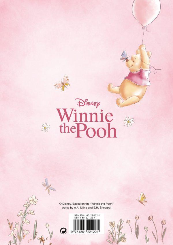 Winnie the Pooh Sketch A5 Diary 2022 back