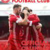 Cover image of the Official Aberdeen FC 2022 Calendar