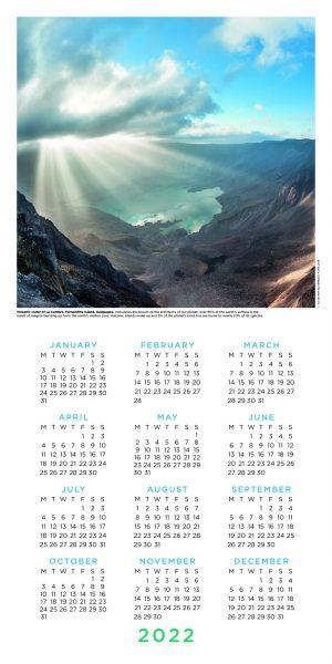 BBC Perfect Planet 2022 Square Wall Calendar INS