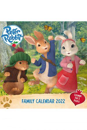 Peter Rabbit 2022 Family Organiser COVER