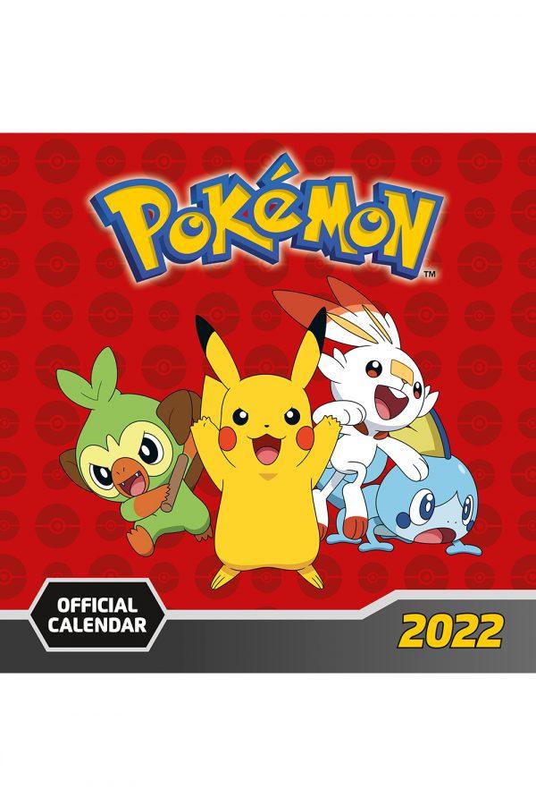 Pokemon 2022 Square Calendar MAIN