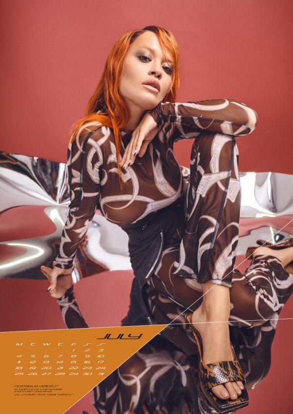 Rita Ora 2022 A3 Calendar Ins