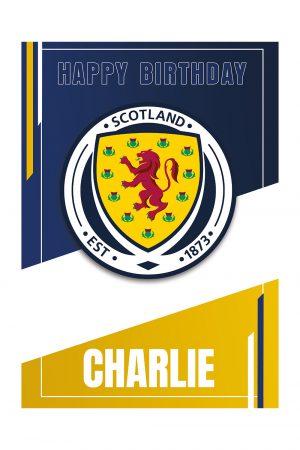 Scotland-personalised-card