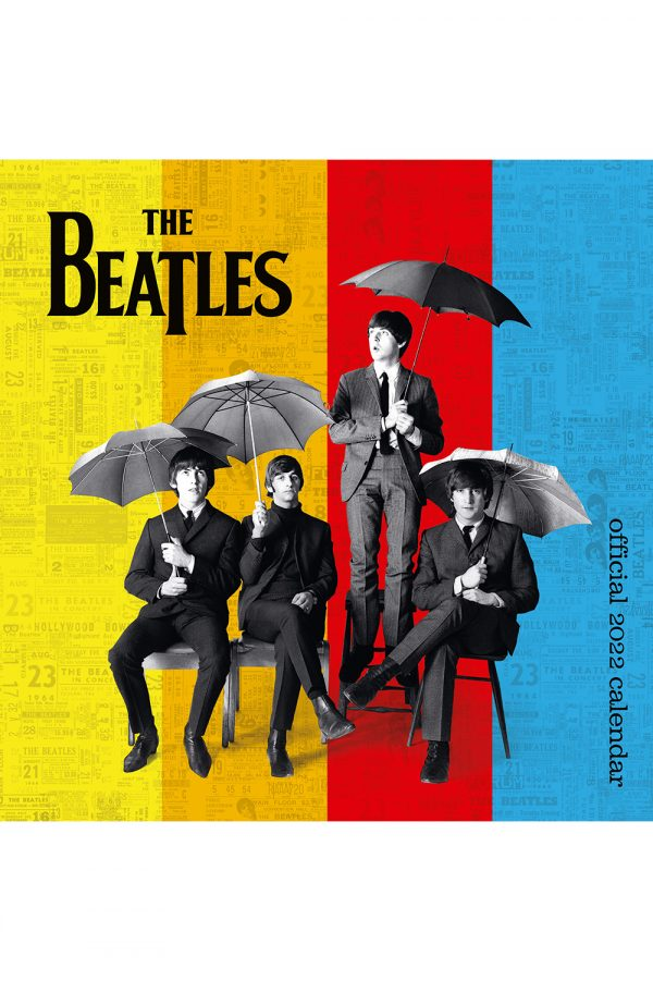 Cover image for The Beatles 2022 square wall calendar