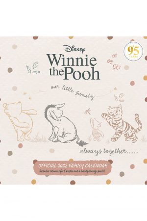 Winnie The Pooh 2022 Family Organiser Wall Calendar COVER