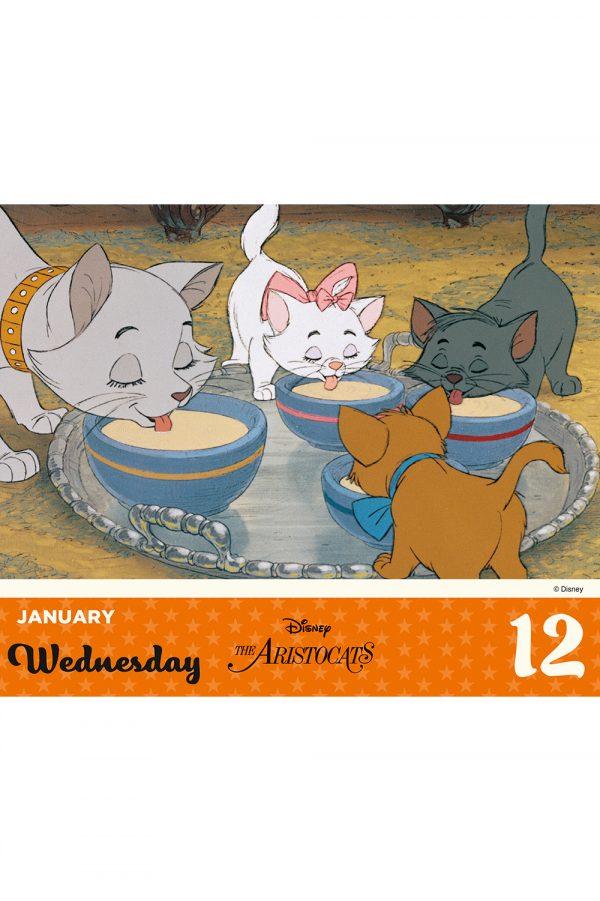Disney Animation 2022 Desk Block Page-a-day Calendar INS