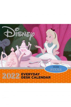 Disney Animation 2022 Desk Block Page-a-day Calendar