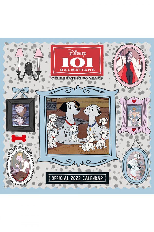 Disney 101 Dalmations 2022 Square Wall Calendar