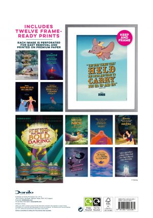 DISNEY-INSPIRATIONAL-QUOTES-DELUXE-A3-CAL-2022-back