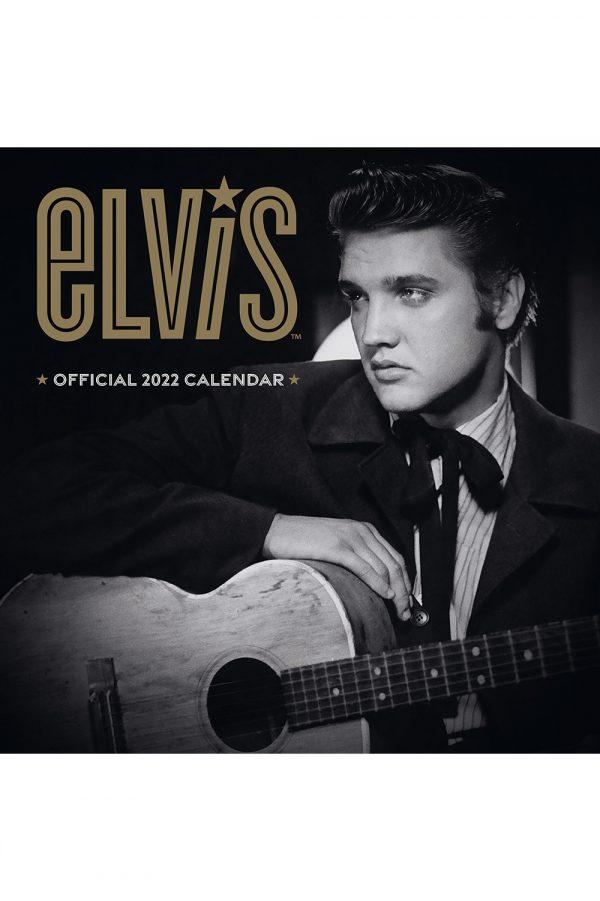Elvis Presley 2022 Square Wall Calendar