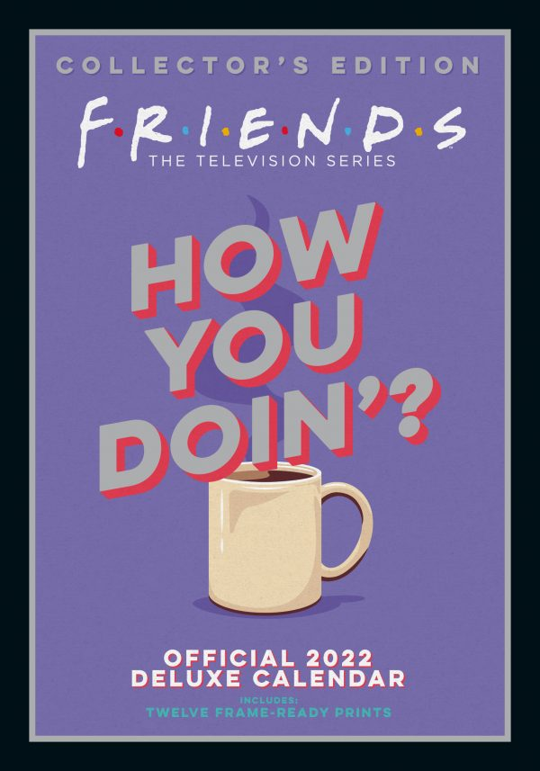 FRIENDS - DELUXE - A3 CAL 2022-MAIN