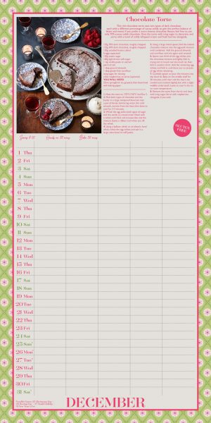 Great British Bake Off 2022 Family Organiser Wall Calendar INS