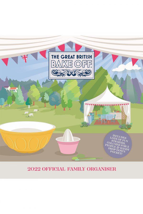 Great British Bake Off 2022 Family Organiser Wall Calendar