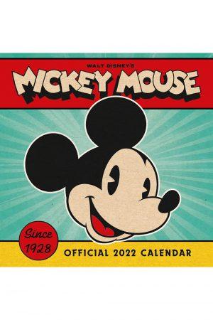 Disney Mickey Mouse 2022 Square Wall Calendar