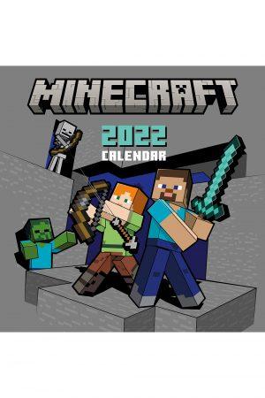 Minecraft 2022 Square Wall Calendar