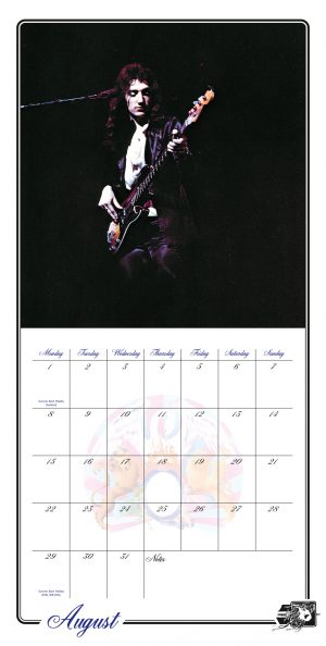Queen Collector's Edition 2022 Square Wall Calendar INS