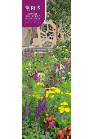 RHS Chelsea Flower Show 2022 Slim Wall Calendar