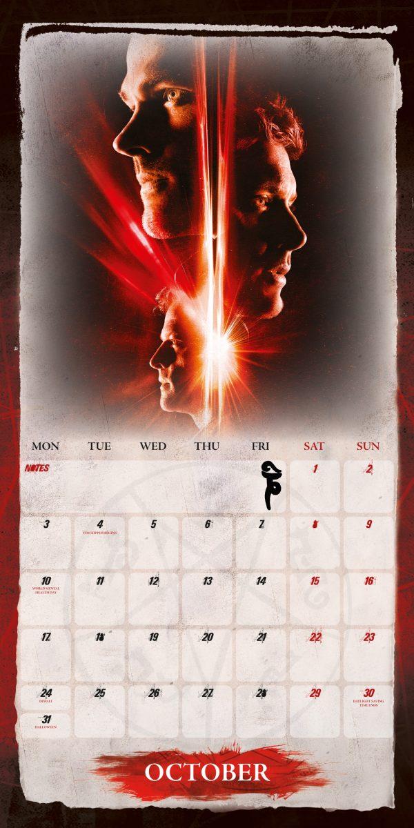 Supernatural 2022 Square Wall Calendar INS