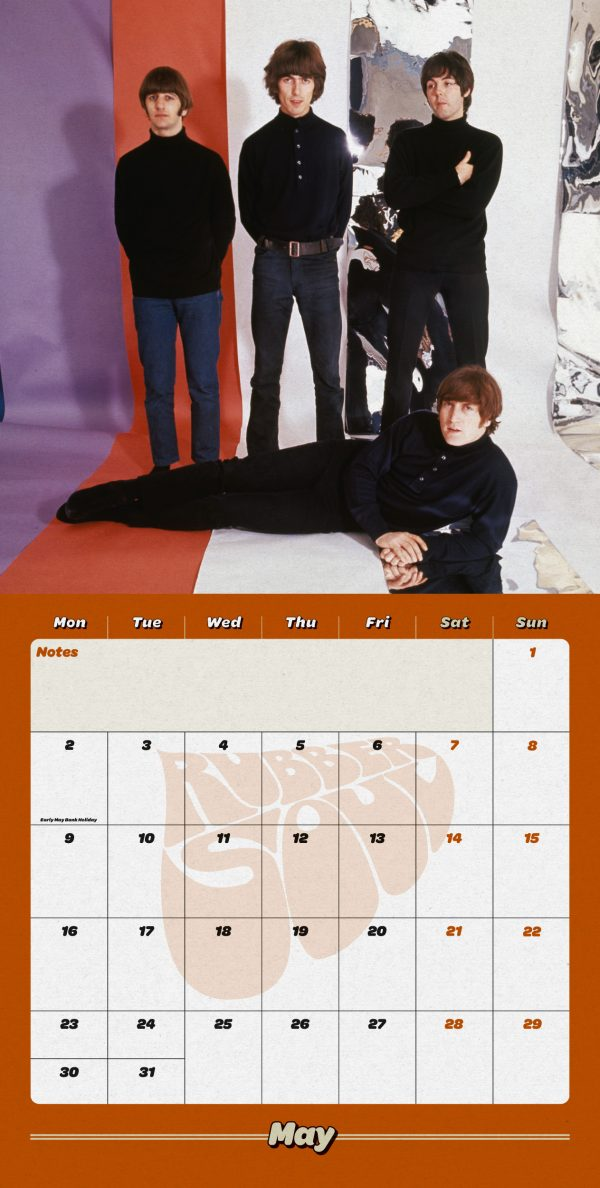 The Beatles Collector's Edition 2022 Square Wall Calendar INS
