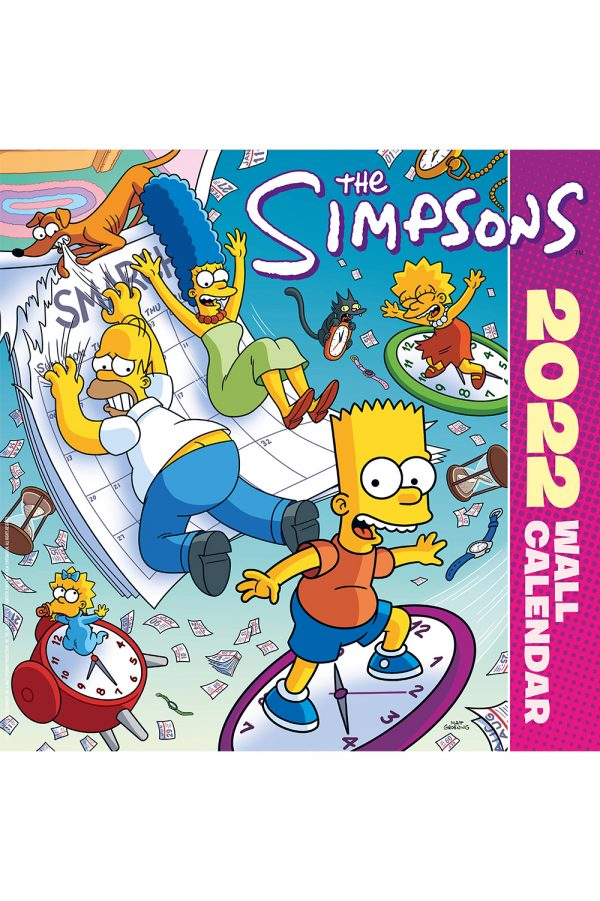 The Simpsons 2022 Square Wall Calendar