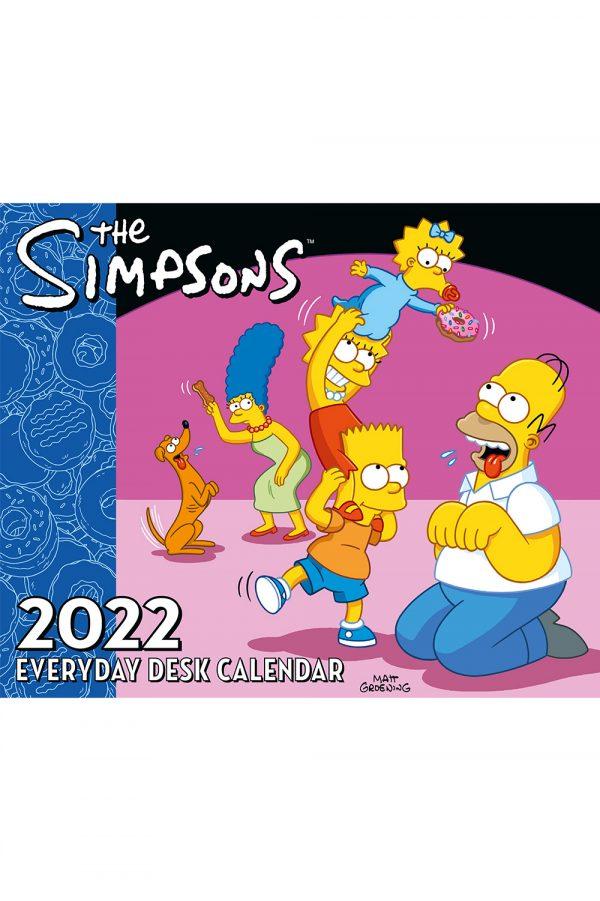 THE-SIMPSONS-DESK-BLOCK-CAL-2022-main