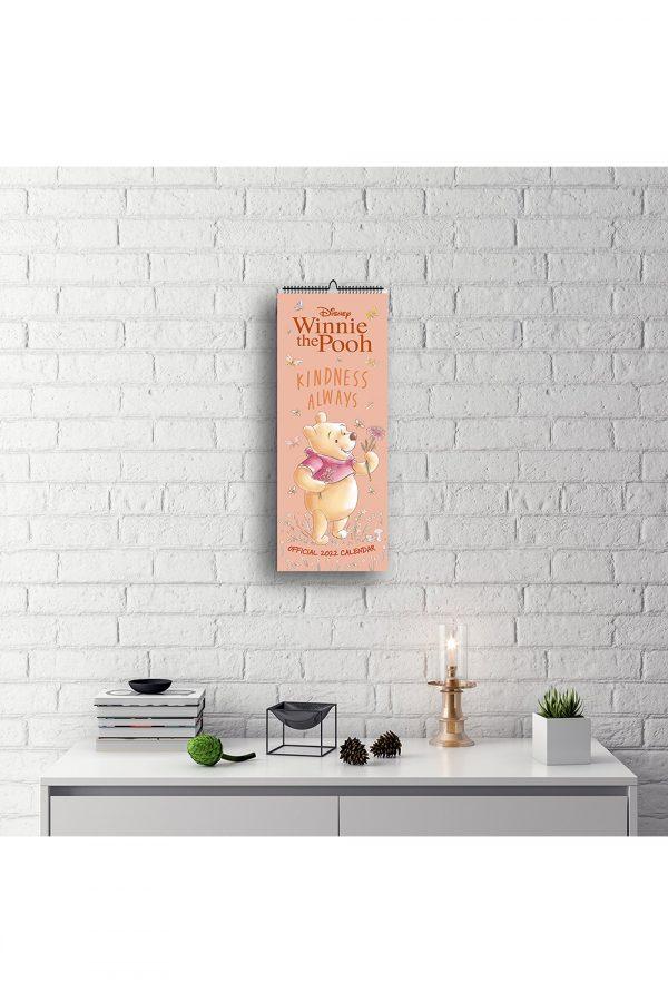 Winnie The Pooh 2022 Slim Wall Calendar