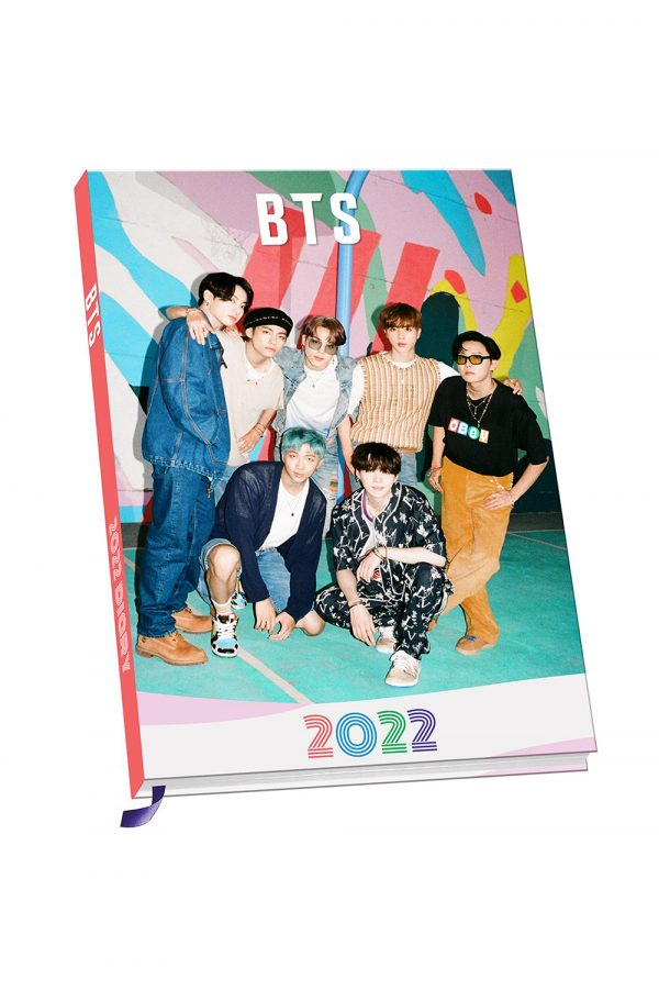 BTS 2022 A5 diary cover