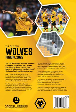 Official Wolves Annual 2022 BACK