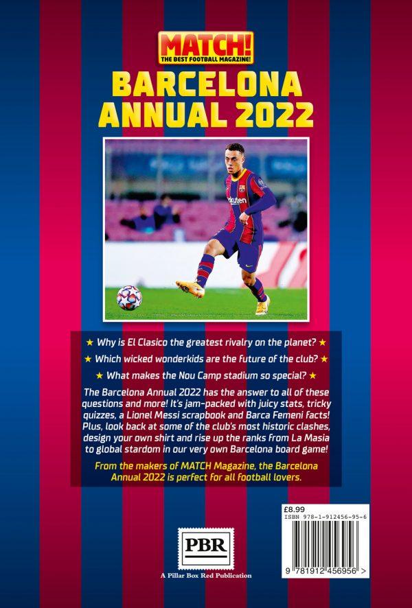 Barcelona Annual 2022 back