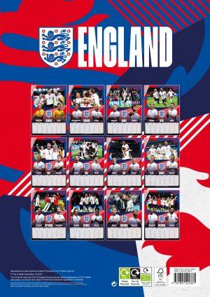 ENGLAND-MEN-FOOTBALL-A3-CAL-2022-back