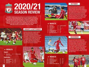 Official Liverpool FC Annual 2022 INSIDE