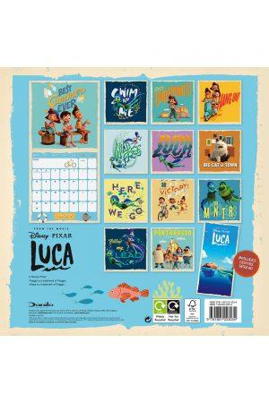 LUCA - 12x12 CAL 2022-back