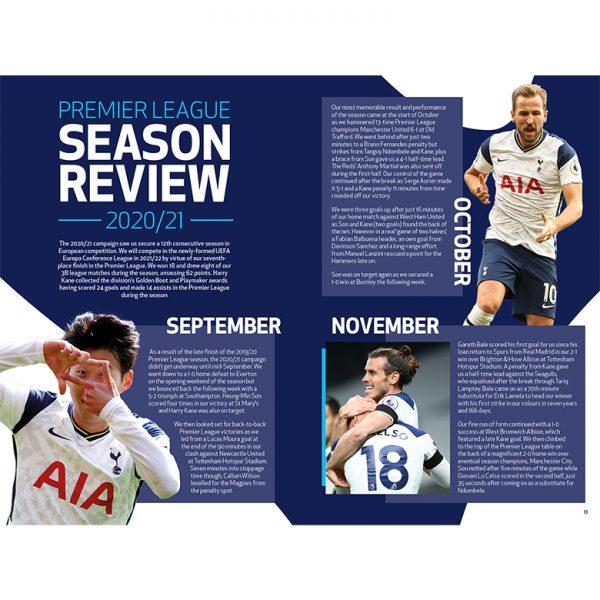 Official Tottenham Hotspur Annual 2022 inside2