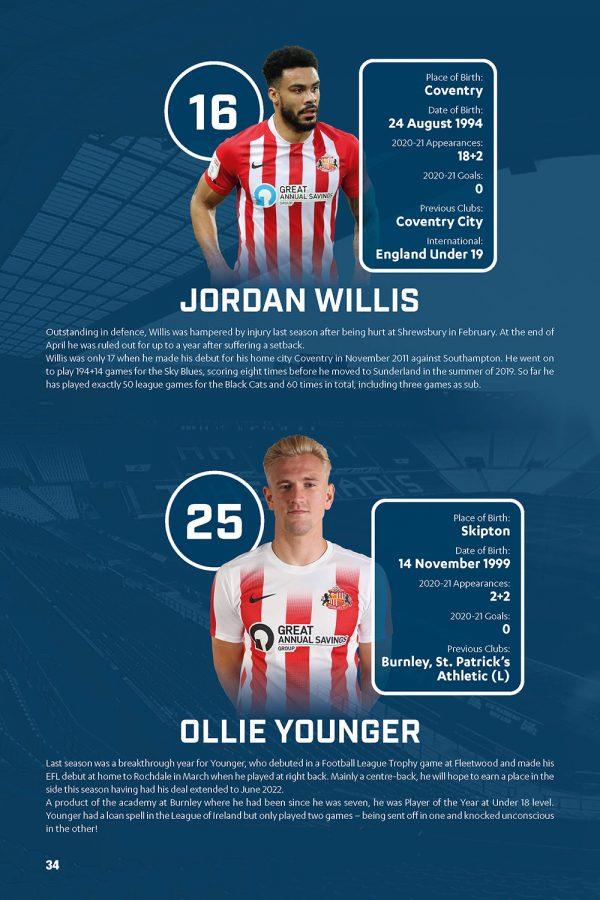 Official Sunderland AFC Annual 2022 INSIDE 1